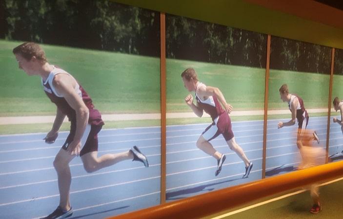 sciencentre running track