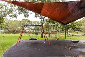 shady brisbane playground.