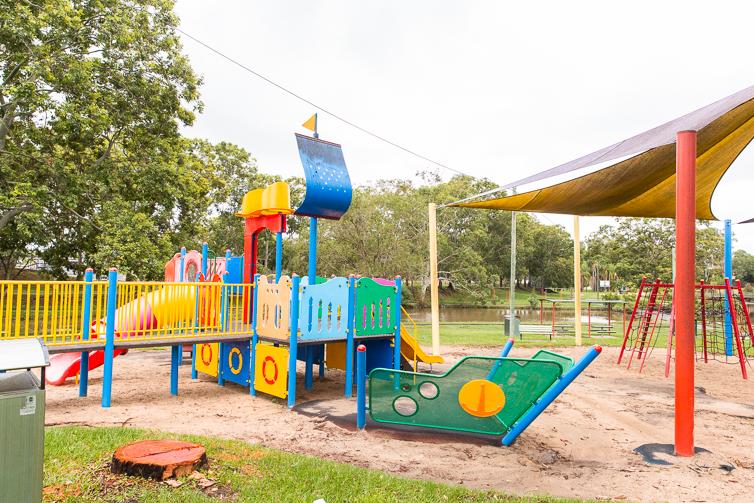 Dough Larsen Park Playground.