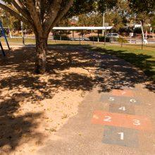 Ewing park hopscotch