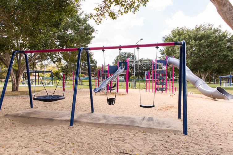 Ewing park swingset