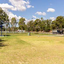 Ewing park open grass