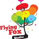 Tree with the words flying fox studios