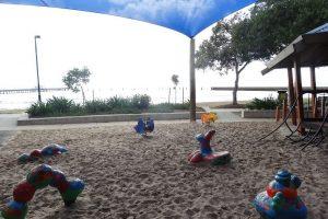 sand based playground, playground brisbane