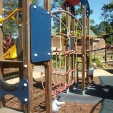 Samford Village Park Climbing Net