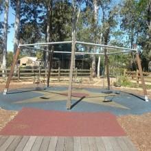 Samford Village Park Pentagonal Swing Setup