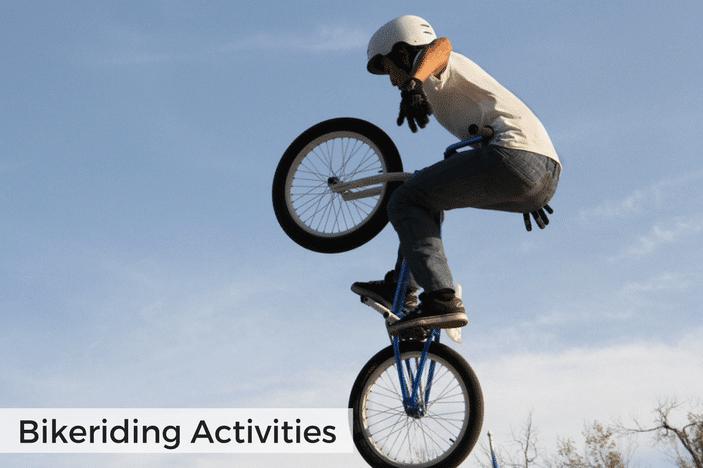 bikeriding for families in brisbane