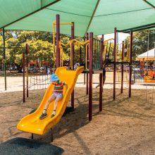 Bulimba Memorial Park big slide