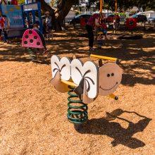 Bulimba Memorial Park bee rocker