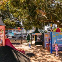 Bulimba Memorial Park toddler areas