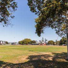 Bulimba Memorial Park playing field