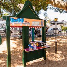 Bulimba Memorial Park playground play cafe