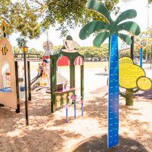 Bulimba Memorial Park playground imaginative play