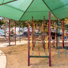 Bulimba Memorial Park rope elements