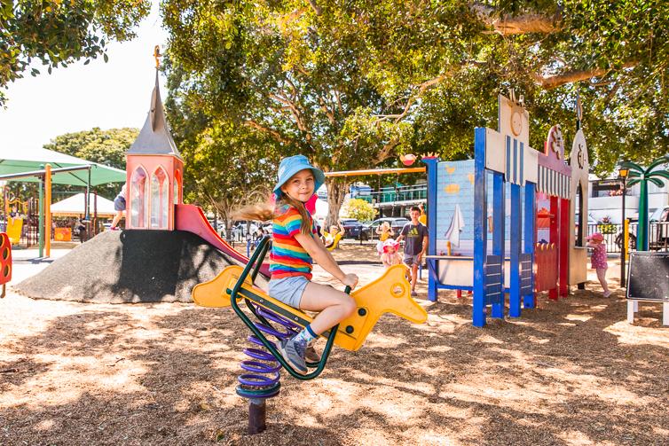 Bulimba Memorial Park rocker