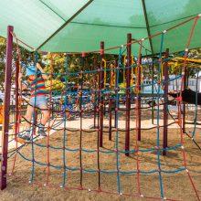 Bulimba Memorial Park cargo net
