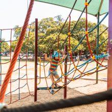 Bulimba Memorial Park rope climbing