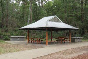 picnic shelter at raven street reserve