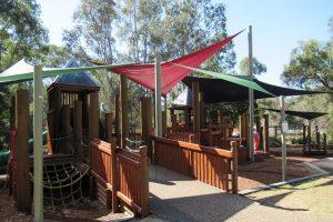 Grinstead park playground fort