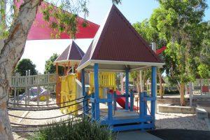 wobbly bridge at hidden world playground