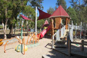 fun colourful playground