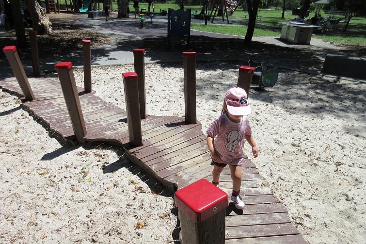 Kalinga Park boardwalk for kids