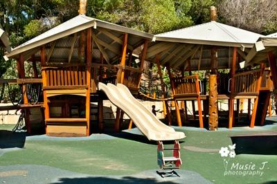 beach side playground