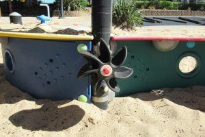 propeller in pirate place brisbane