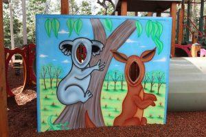 fun photos cutout of native animals