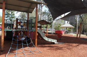rafting ground reserve shaded playground