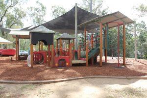 rafting ground reserve playground with shade sails