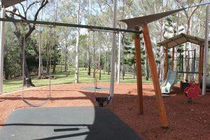 swings in rafting ground reserve