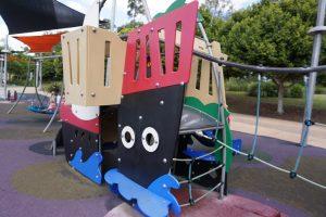 climbing net playground ipswich