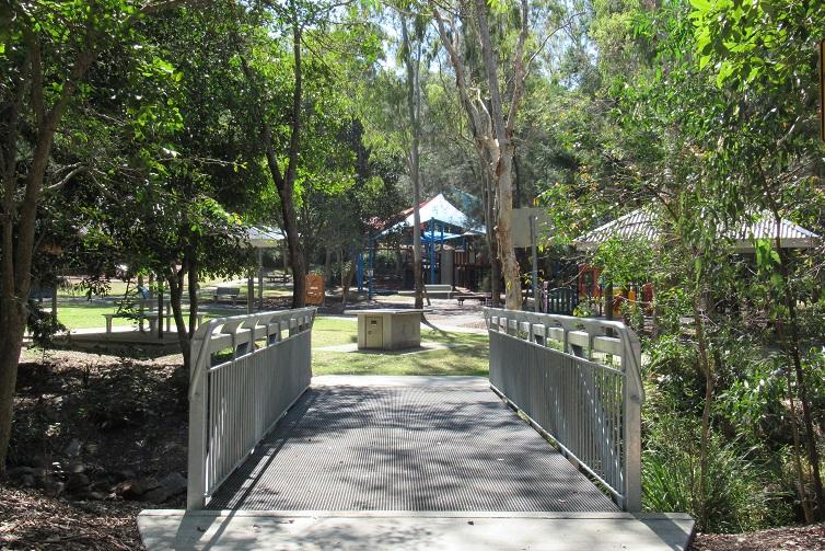 shady brisbane playground