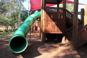 green tunnel slide shand street park