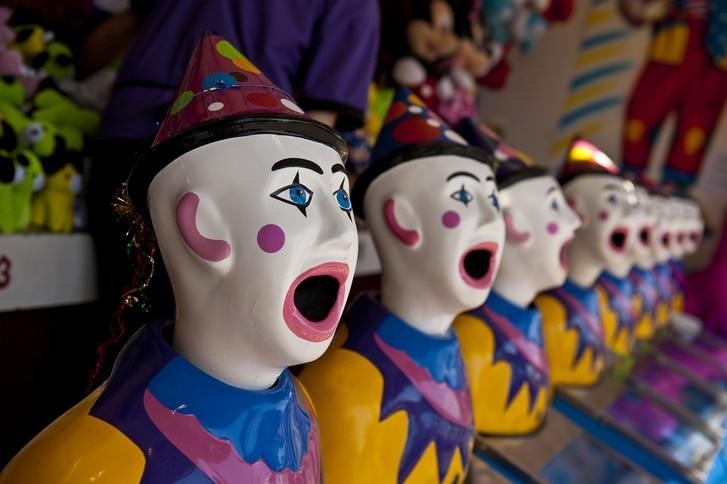 Clowns at the Ekka