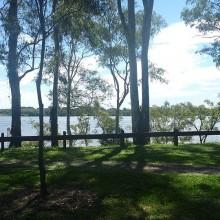 Colmslie Beach Reserve River