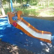 Colmslie Beach Reserve Slide