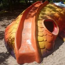 Colmslie Beach Reserve Fish Slide