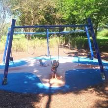 Colmslie Beach Reserve Pentagonal Swings