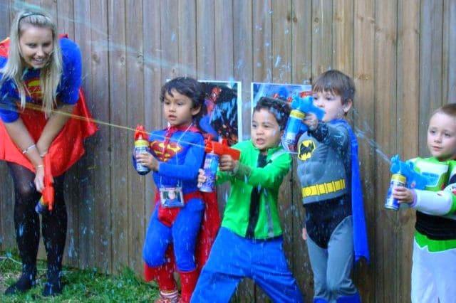 Ezy Kids Parties superheroparty