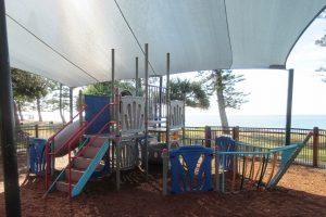 fun brightly coloured playground