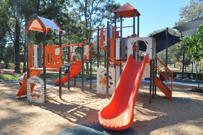 Teralba Park, Mitchelton playground, Everton Park playground