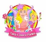 Tiana Dance Parties logo Tile 72 dpi2