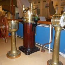 gold boat wheel maritime museum