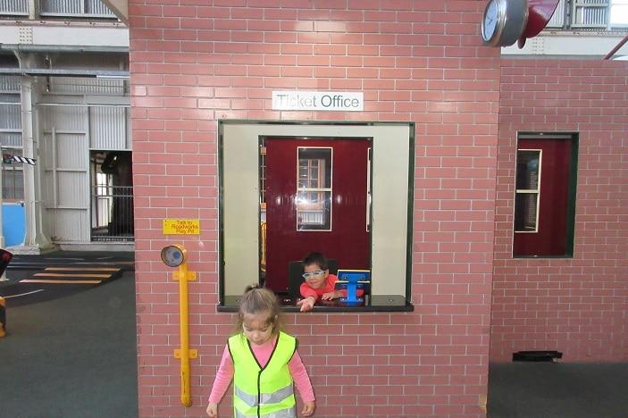 ipswich rail museum dressup activity