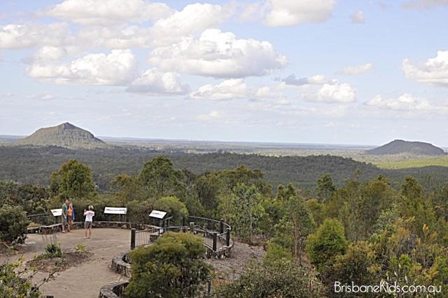 Explore Brisbane Glass House Mountains Lookout Brisbane Kids