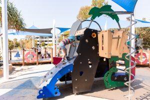 Bulimba riverside park play equipment