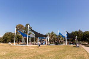 Bulimba riverside park shade sails