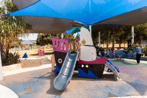 Bulimba riverside park sailboat theme equipment